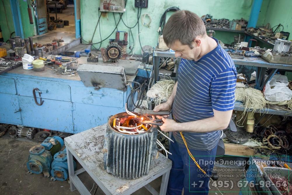Виды ремонта электродвигателей в Иваново