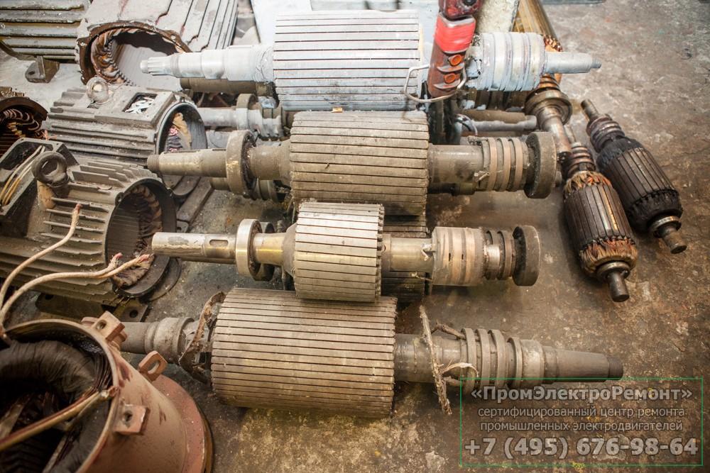 Какой бывает ремонт электродвигателей?