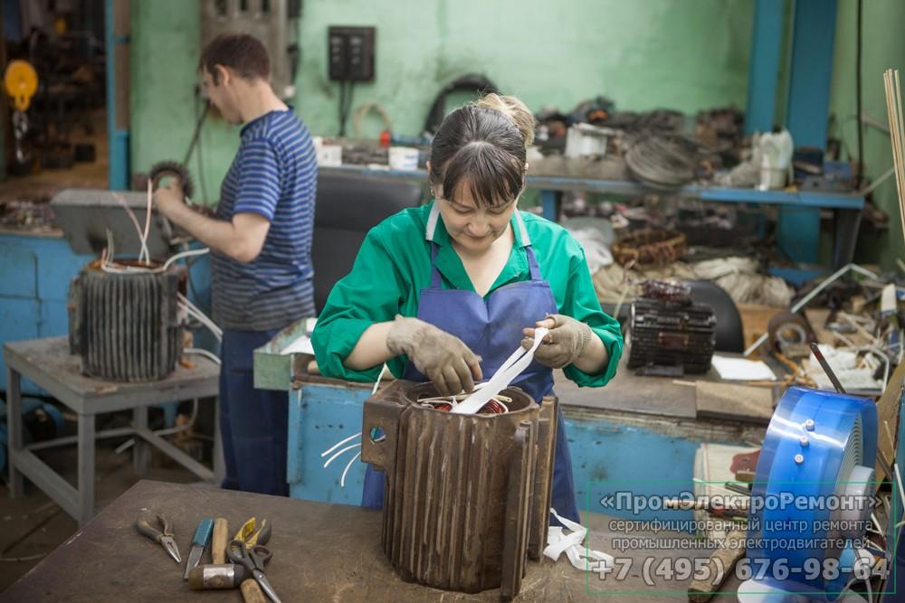 Ремонт электродвигателей в Подольске