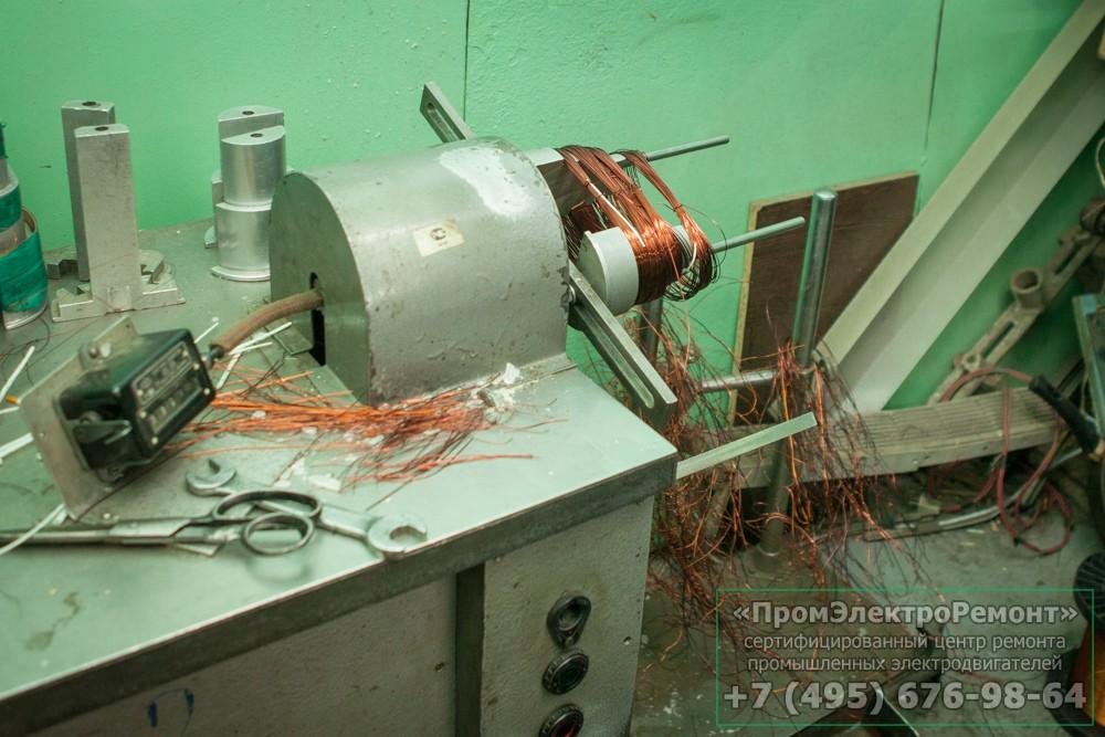 Срочный ремонт электродвигателя в Серпухове
